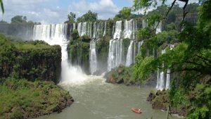 Imagen catarata iguazuu